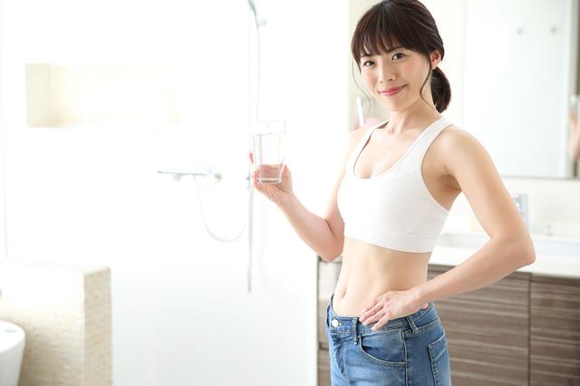 水素水で健康になった女性