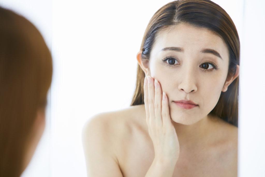 化粧水が合わないと感じる40代女性