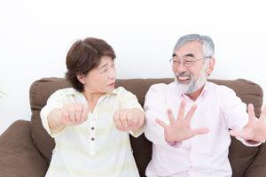 グーパー運動で冷えを解消する夫婦