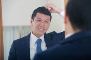 敏感肌用育毛剤で生えてきた男性