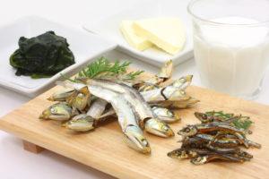 カルシウムが含まれる食べ物