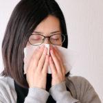 寒暖差アレルギーの女性